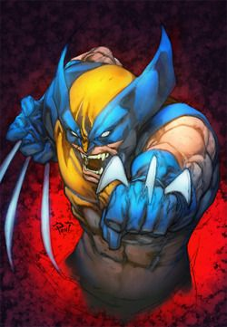 Wolverine Marvel Comics Art