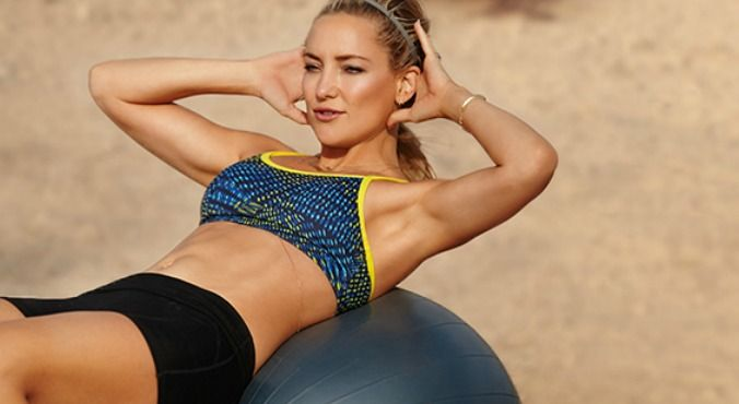 The 'secret' to Kate Hudson's fitness routine