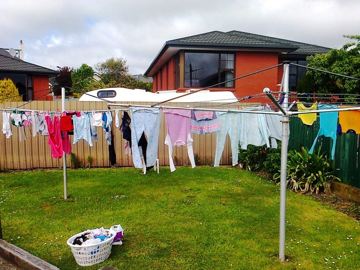 How the Simple Clothes Line Fostered Friendships in Timaru...read more at http://fromworrytoglory.com