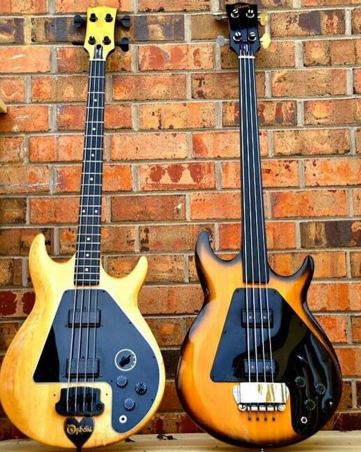 Modified 1978 Gibson Ripper and 1976 Fretless Ripper                                                                                                                                                                                 More