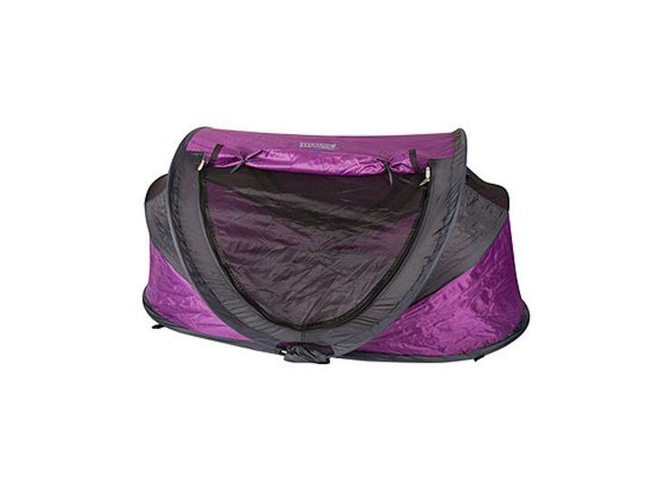 NSAuk Large Deluxe Travel Cot & UV Sun Tent - Purple