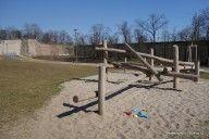 Dětské hřiště v parku Maxe van der Stoela