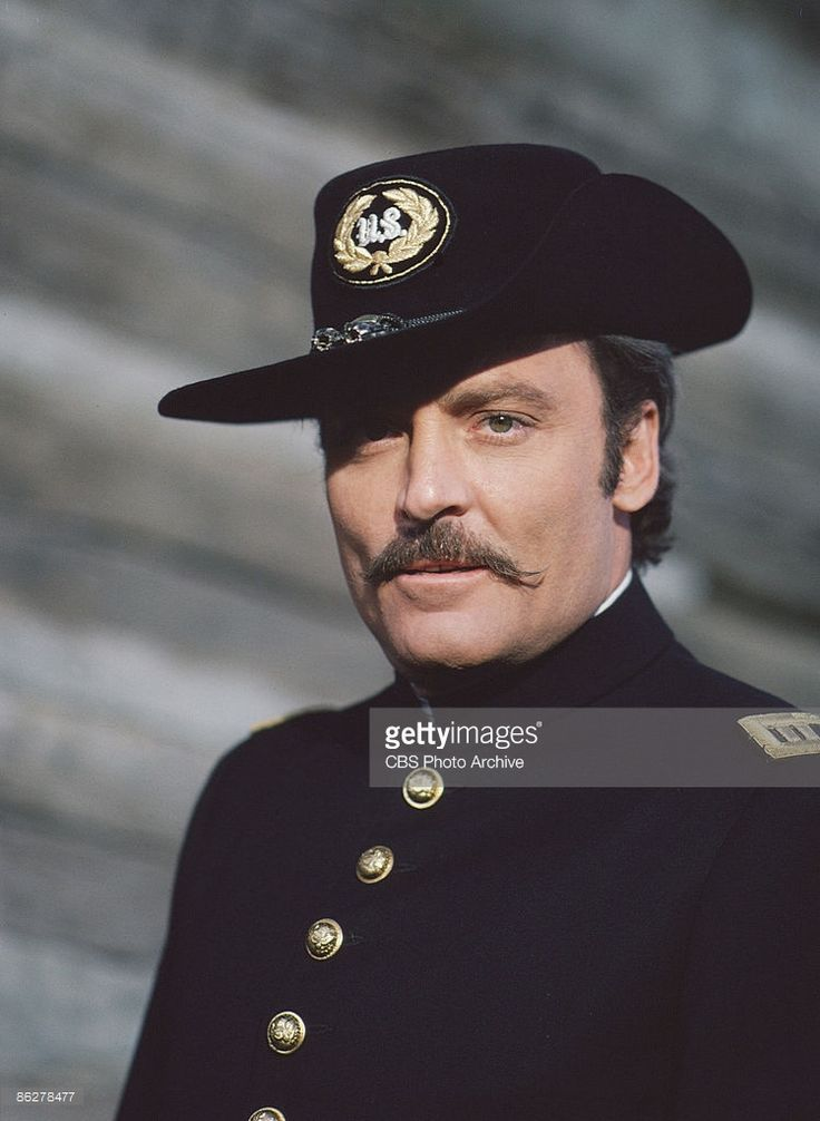 American actor Stacy Keach in a scene from the television ...