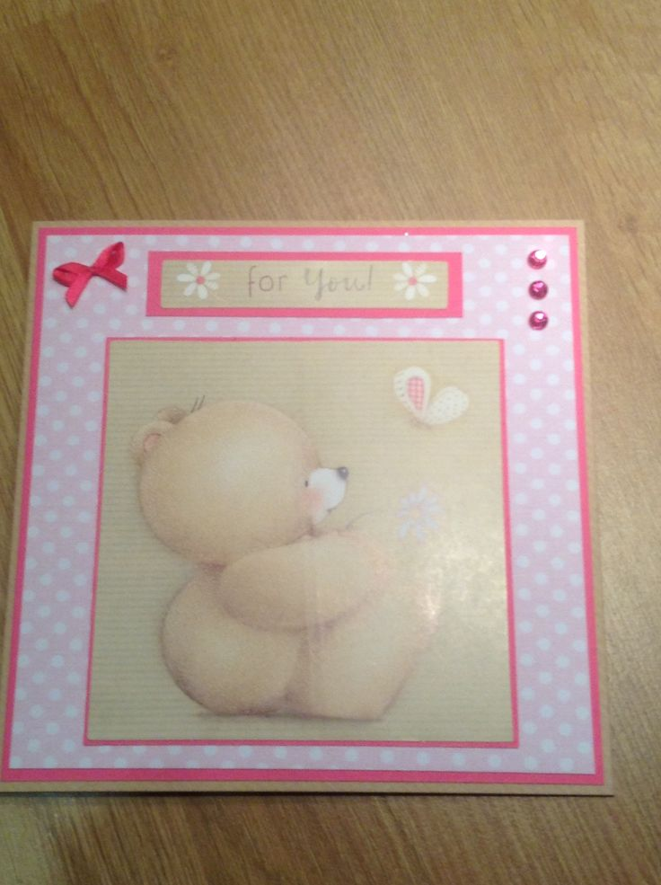 Forever friends card - so cute