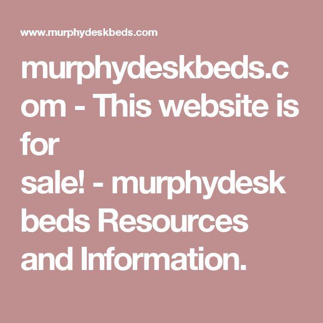 murphydeskbeds.com-This website is for sale!-murphydeskbeds Resources and Information.