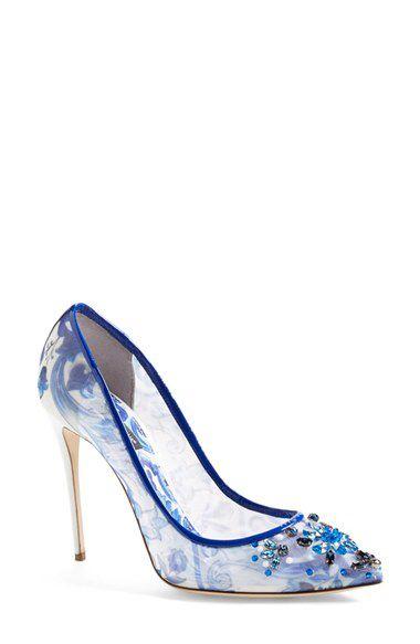 Dolce&Gabbana Dolce&Gabbana 'Maiolica' Pump (Women) available at #Nordstrom