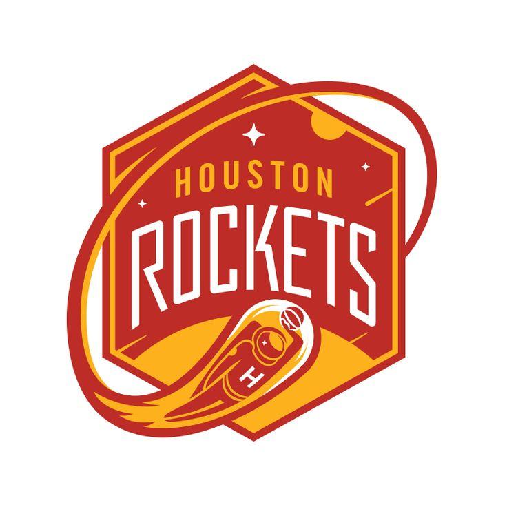 When Do Warriors Move To San Francisco: NBA Logo Redesigns: Houston Rockets