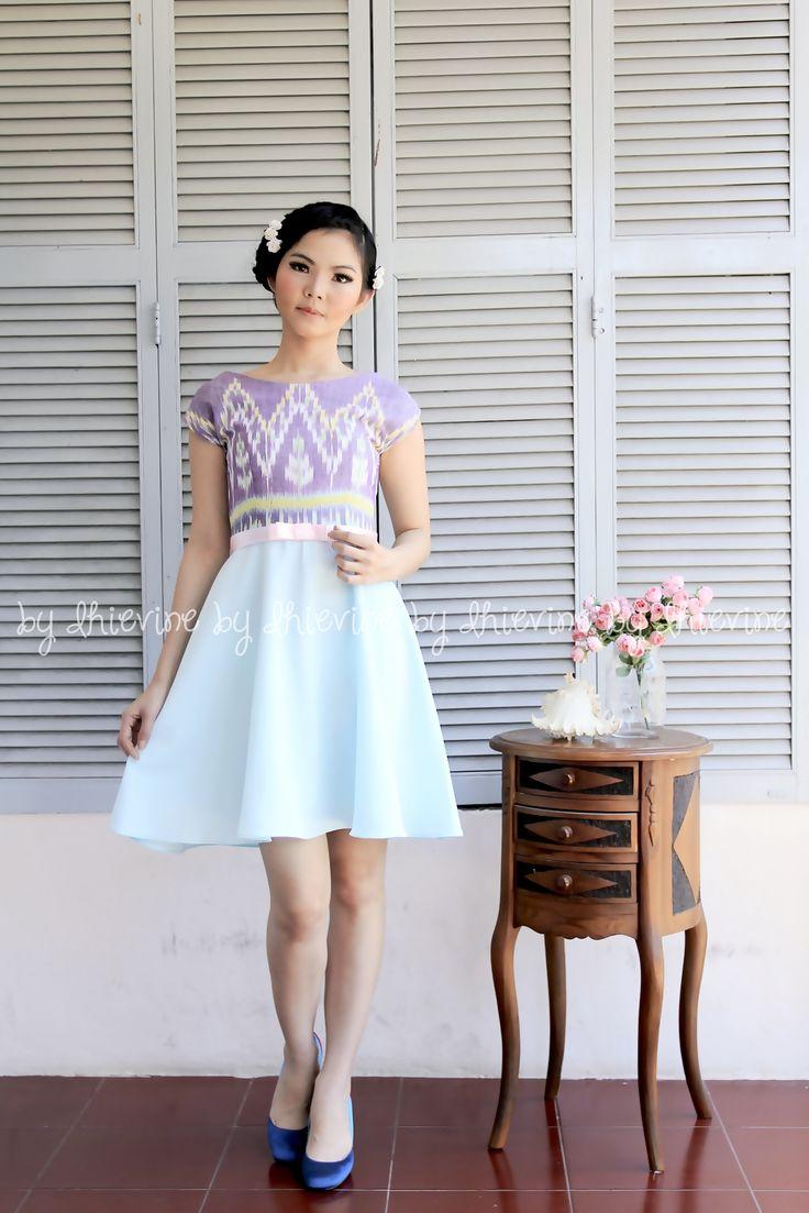 Pertiwi Ikat Dress | DhieVine | Redefine You