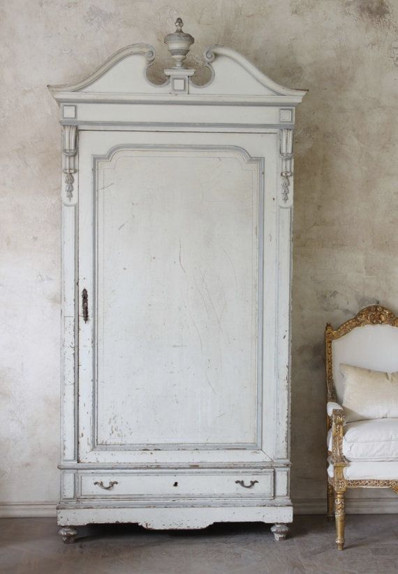French style vintage armoire