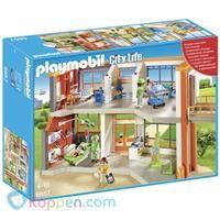 PLAYMOBIL Compleet ingericht kinderziekenhuis - 6657 -  Koppen.com