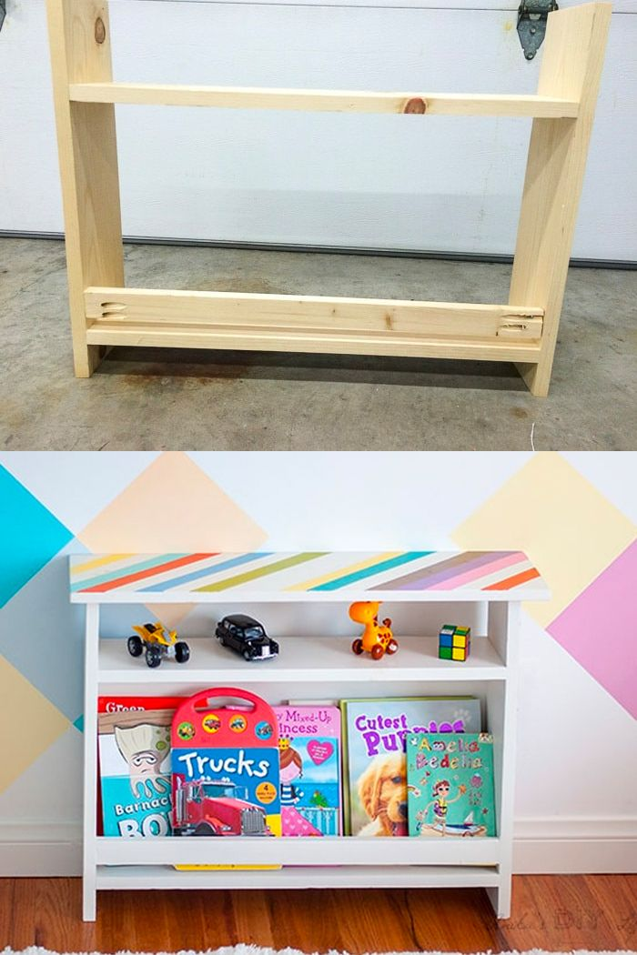 Diy Kids Bedside Table With Book Storage Anika S Diy Life