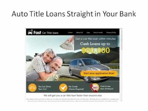 Easy car title loans in US | www.fastcartitleloans.net