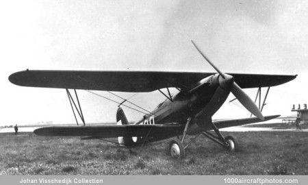 No. 10694. Fokker C.X (700) Netherlands Army Air Service