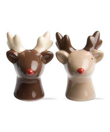 Love This Reindeer Salt U0026 Pepper Shakers By Tag On #zulily! #zulilyfinds