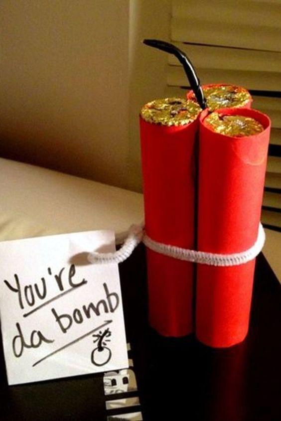 25 Valentine S Day Gifts For Him Boyfriends Creative Diy Crafts