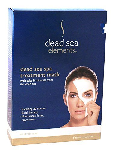 Dead Sea Spa Treatment Mask 5 Facial Treatments TWINPACK * Want to know more, click on the image.