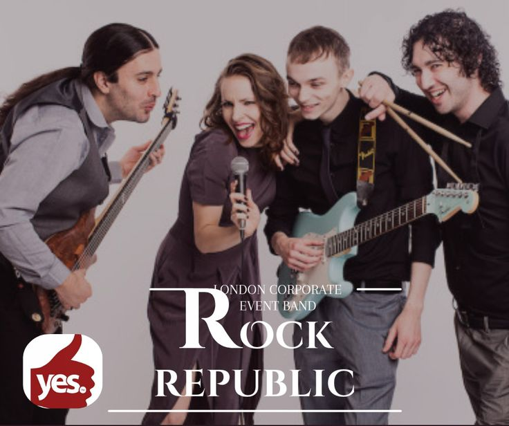 Rock Republic are a four-piece function band from London featuring both female and male lead vocals, and playing high-energy dance music guaranteed to keep your feet glued to the dance floor.  https://goo.gl/5Nly3R
