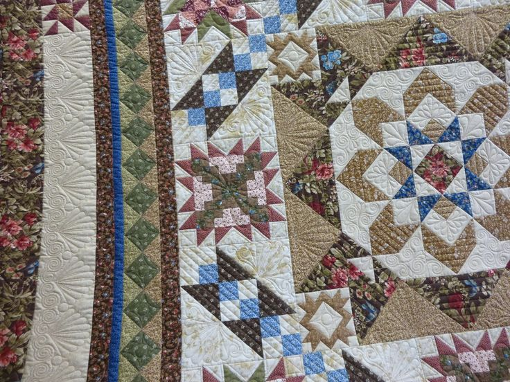 Quilt Border Pattern Ideas Cafca Info For