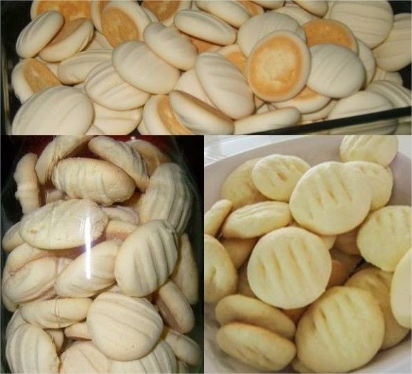 Biscoitinhos de Maisena com Coco que derretem na boca!