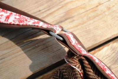 Taschenring aus Zelt-Hering
