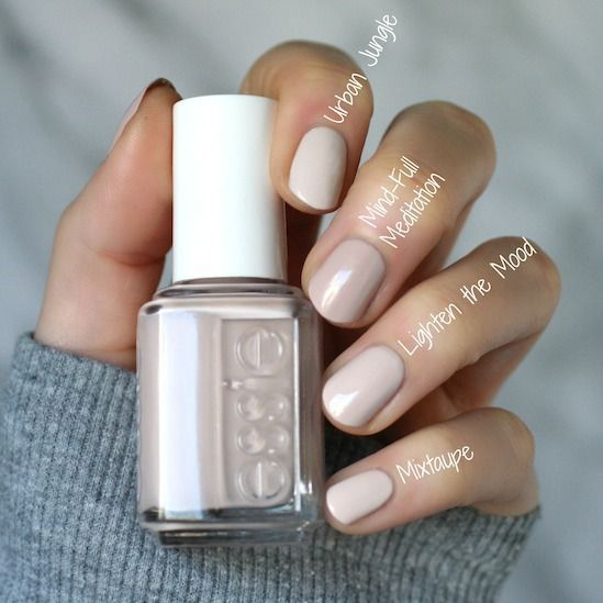 #Collection #Comparisons #Envy #Essie #Review #Serene – pin