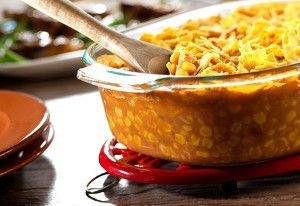 Mexican Corn Casserole. ☀CQ #casseroles #quiche #onedish
