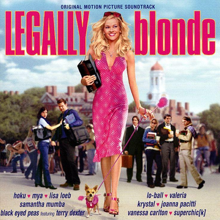 """Legally Blonde"" movie soundtrack, 2001."