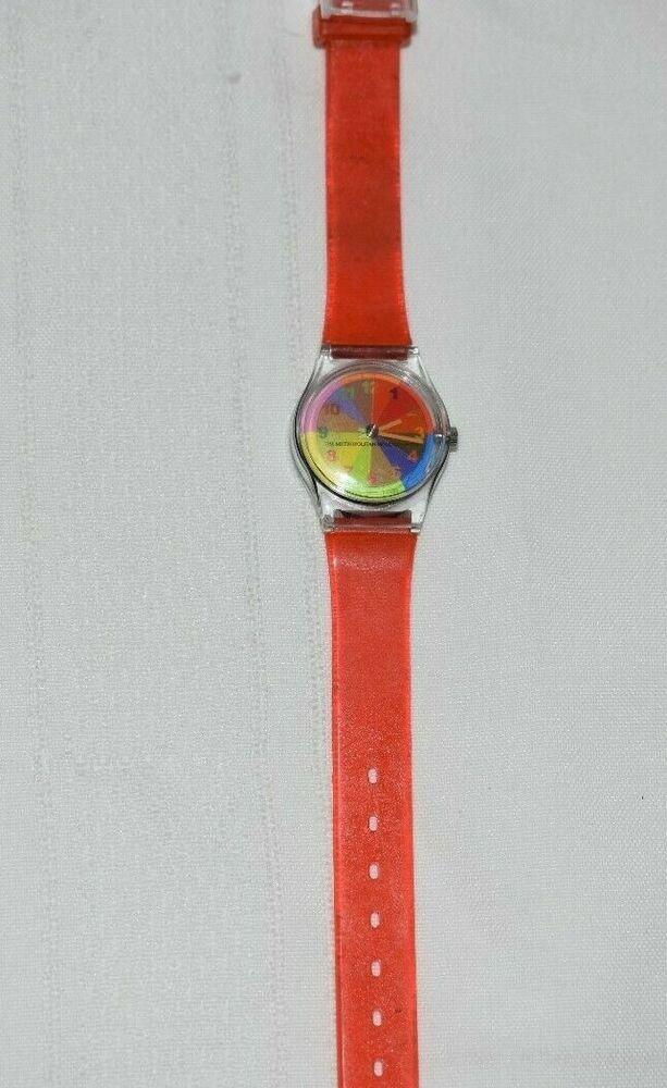 Changing Color Wheel Watch Moma Met Metropolitan Museum Of Art Swatch Casual In 2020 Metropolitan Museum Of Art Color Wheel Moma