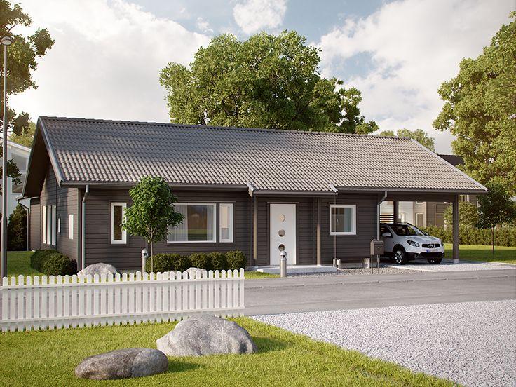 LevelOne - steget in i eget hus - 10 smarta hus från Myresjöhus