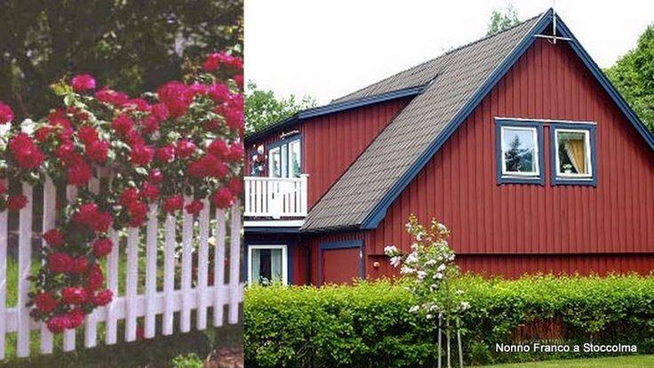 Nonno Franco a Stoccolma: Rosso svedese (rosso Falun)