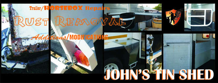 Contact me on 076 296 2008 or johnstinshed@gmail.com for a quote on horsebox rust repairs or additions and modifications