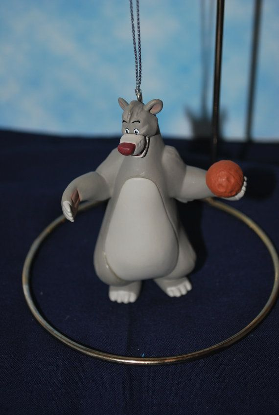Disney's Baloo Jungle book Figurine Ornament   Free by HobbyHaven, $12.50