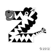 Z Is For Zebras Craft Kit