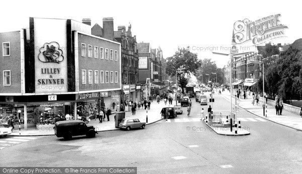 Ealing, New Broadway c.1965, from Francis Frith