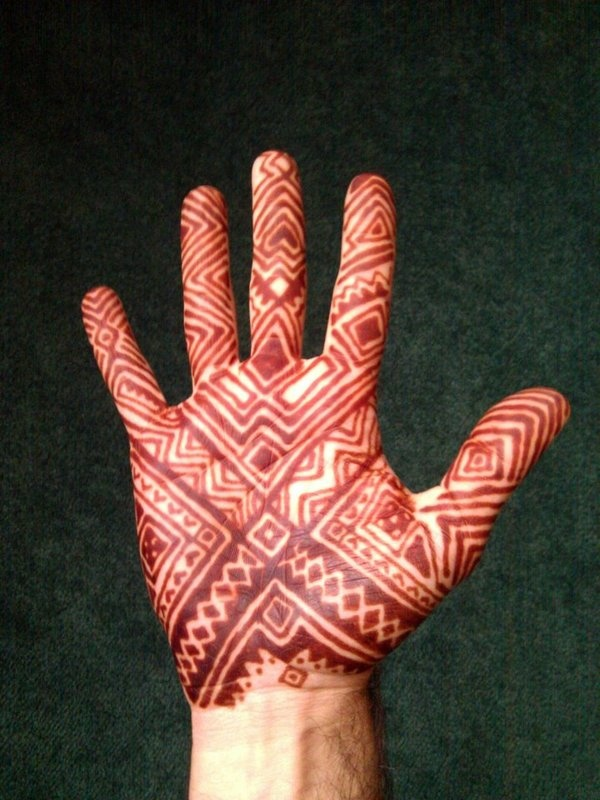 Mehndi Design For Men : Images about mehndi for men on pinterest tribal