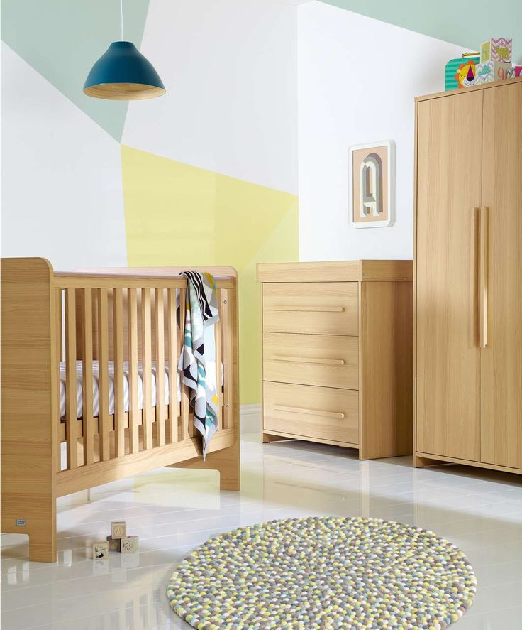 Haxby 3 Piece Set - Oak - 3 Piece Sets - Mamas & Papas