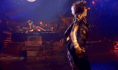 CATS (gif) Demeter Turn your face to the moonlight Pinterest - best of lyrics invitation to the jellicle ball