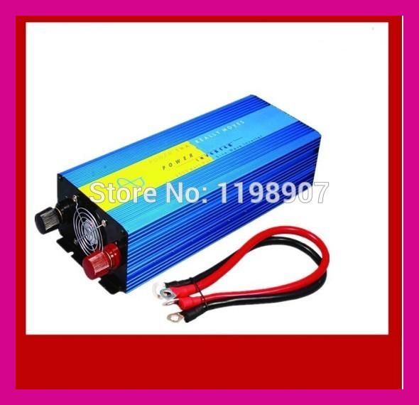 Senoidal pura, entrada 12, saida 220 Factory 1500W Pure Sine Wave Inverter 24VDC, 220V AC Power Inverter, Solar Inverter
