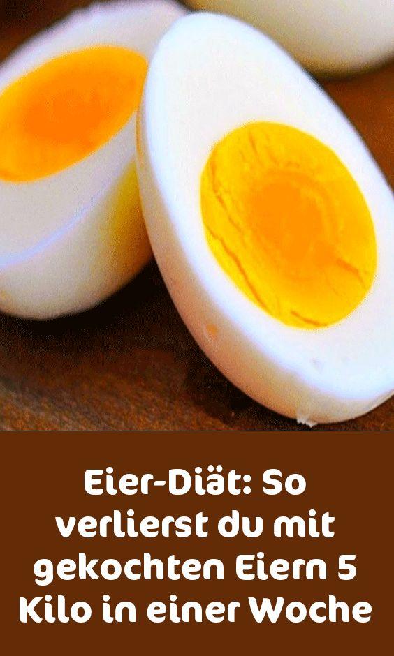 Dieta dos ovos: você perde 5 quilos com ovos cozidos em uma semana   – Gesund abnehmen