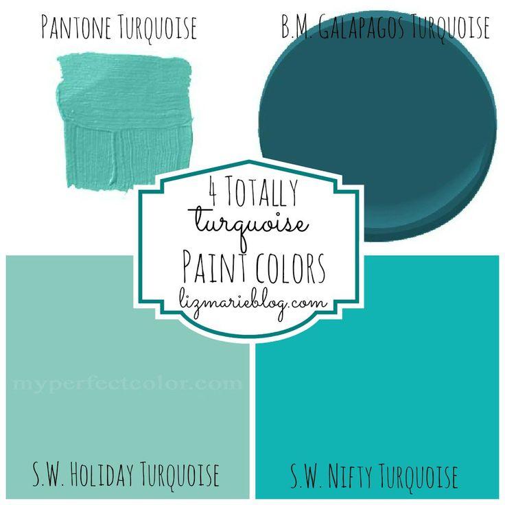 The 25 best Turquoise paint colors ideas on Pinterest Blue