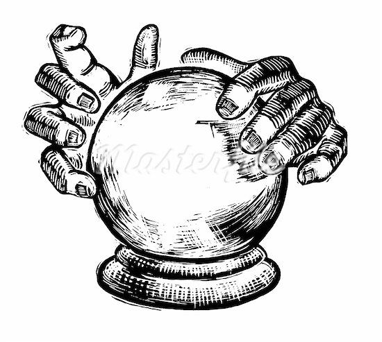 crystal ball drawing - Google Search