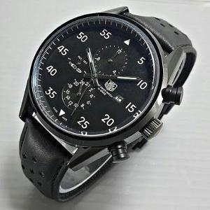 Rp450.000 jam tangan pria automatic tali kulit Tag Heur