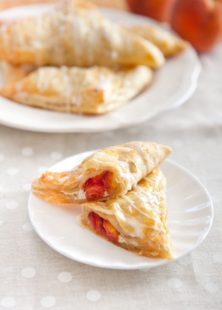Recipe: Spiced Peach Turnovers — But First, Breakfast!