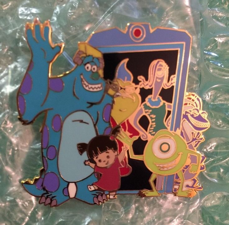 Disney - DLR Cast Exclusive Monsters Inc. Mike & Sulley to the Rescue LE Pin MIP