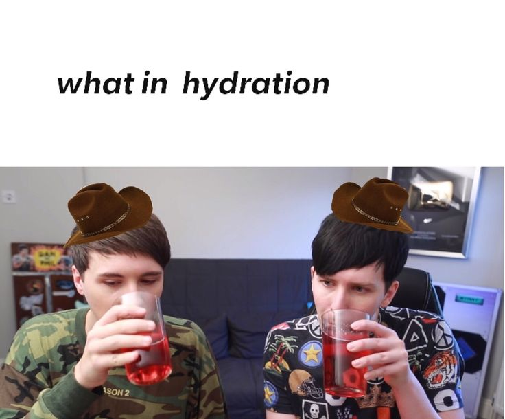 What is up with the cowboy meme with Dan and Phil