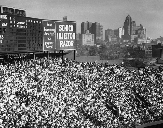 Tiger Stadium, Detroit, MI, Game 5 of the 1940 World Series, Oct. 6, 1940