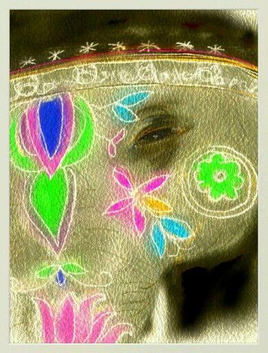 Ceremonial elephant remembers