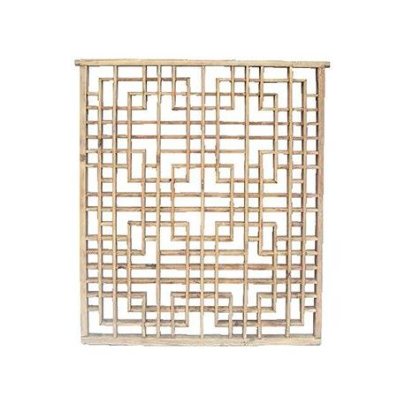 Celosía en madera lavada Ancho 113 / Fondo 4 / Alto 125  Consultar modelos disponibles