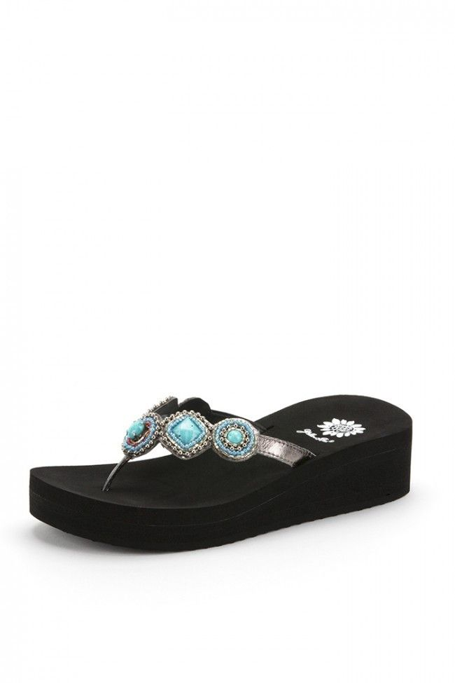 Yellow Box Erlina Flip Flop Turquoise