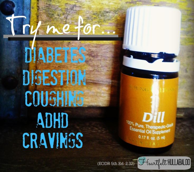 dill oil weight loss